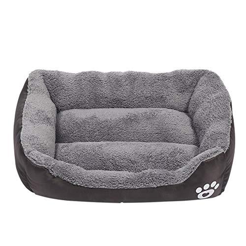 EisEyen Hound Hundebett hundebetten Katzenbett Waschbar Baumwolle Pet Bett Kissen für Mittlere Hunde Katzen Kleintiere