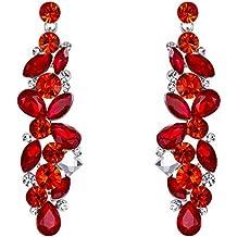 prezzo di fabbrica 08ae8 1bd87 Amazon.it: orecchini rossi