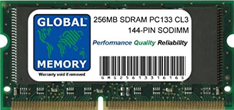 256Mo PC133 133MHz 144-PIN SDRAM SODIMM MÉMOIRE RAM POUR CLAMSHELL/NEIGE IBOOK G3 & TITANIUM POWERBOOK G4