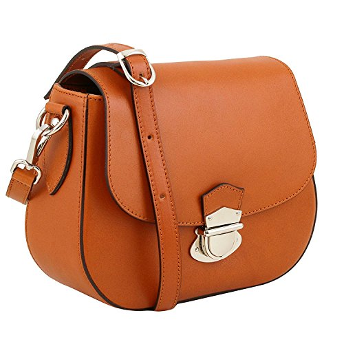 Tuscany Leather TL Neoclassic - Sac bandoulière en cuir - TL141517 (Beige) Miel
