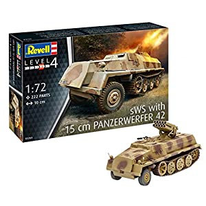 Revell 03264 SWS with 15 cm Panzerwerfer 42, Multi Colour