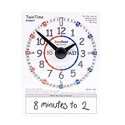 EasyRead time teacher ERSC-WO Student Card from EasyRead Time Teacher