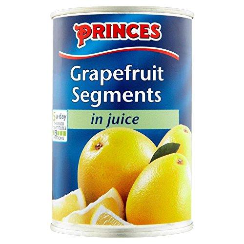 Segments Princes pamplemousse dans jus (de 411g) - Paquet de 2