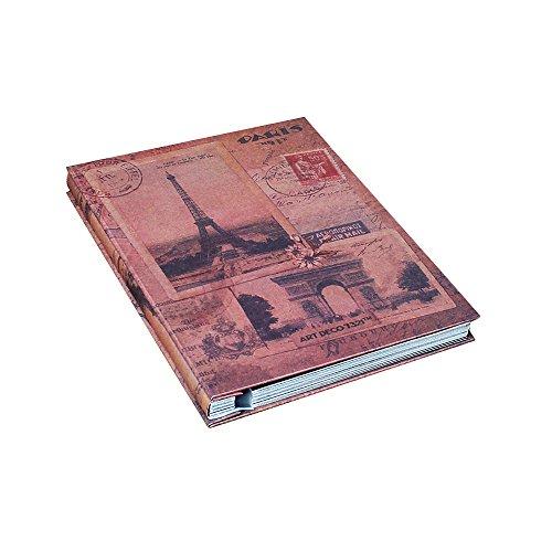 Jia HU 1 pcs DIY Album photo vintage européenne Scrapbooking Autocollant albums enregistrer Cadeau Noir