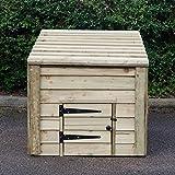 HNP Wooden Coal Bunker - fully assembled