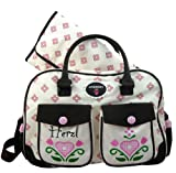 ANBERRY Wickeltasche Herzl on Tour, Diaperbag Light Pink / Rosa