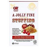 Gordon Rhodes Gourmet Roast Chestnut & Spiced Cranberry Stuffing Mix 125g