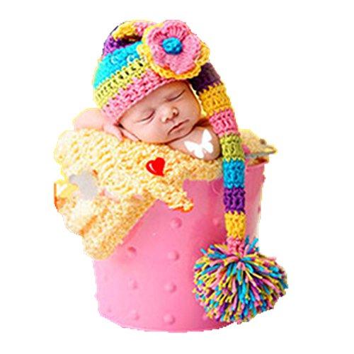 handmade-infant-newborn-baby-girl-boy-uncinetto-maglia-cappello-copricapo-fotografia-props-outfit-co