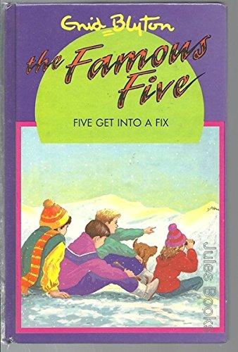 Enid Blyton's Five get into a fix