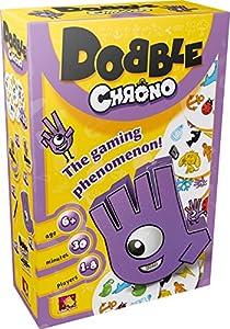 Asmodee Editions ASMDOBCH01EN - Juego «Dobble Chrono»