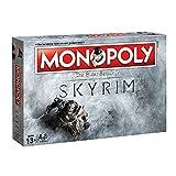 Monopoly - Skyrim-Edition - Brettspiel | 6 Sammler Spielfiguren | DEUTSCH | Gesellschaftsspiel