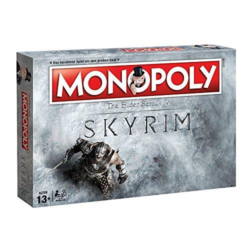 fallout 4 monopoly Monopoly - Skyrim-Edition - Brettspiel | 6 Sammler Spielfiguren | DEUTSCH | Gesellschaftsspiel