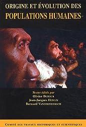 Origine et évolution des populations humaines