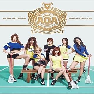 AOA - [HEART ATTACK] 3rd Mini Album CD + Photocards + Unfolded Poster Sealed K-POP