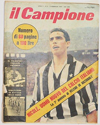 il campione anno v n. 5 - 2 febbraio 1959 - Amazon Libri