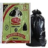 #7: Garbage Bags (Big) Size 29 inch * 39 inch (pack of 5) 50 Bags (Trash Bag/ Dustbin Bag)