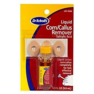 Dr. Scholl'S Liquid Corn & Callus Remover, Liquid Kit- 1/3 Fl Oz.