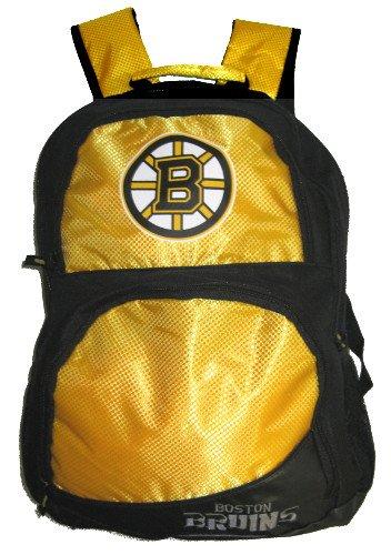 NHL Boston Bruins High End Rucksack, Einheitsgröße, schwarz (Bean-bag-baseball)