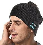 SUNNIOR musica di Bluetooth Knit Hat Beanie con le cuffie senza fili auricolare...