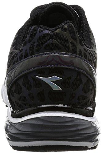 Diadora Scarpa Running Sneaker Jogging Uomo Mythos blushield hip Black /Black Scarpe Nero