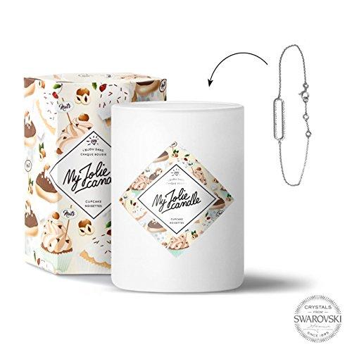 My Jolie candle - Bougie bijou Cupcake Noisettes - Bracelet