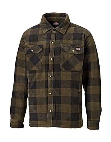 Dickies shirt portland hemd khaki-m