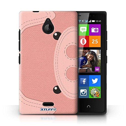 Kobalt® Imprimé Etui / Coque pour Nokia X2 Dual Sim / Tigre conception / Série Cousu des Animaux Effet Cochon