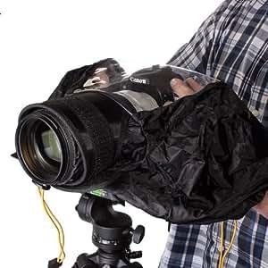 7dayshop Housse de protection anti-pluie professionnelle pour appareil photo Canon, Nikon, Olympus, Sony, Panasonic, Pentax, Minolta, Sony DSLR et appareils SLR
