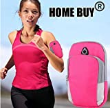 Home Buy, Running Cycling Sports Waist Jogging Gym Armband Arm Band Holder Bag
