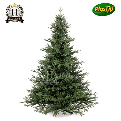 Künstlicher Weihnachtsbaum Spritzguss 120 cm Nobilistanne OXBURGH Edeltanne Kunsttanne Spritzgusstanne Hallerts Plastip