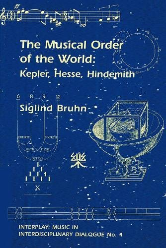The Musical Order of the World: Kepler, Hesse, Hindemith (4) (Interplay) por Siglind Bruhn
