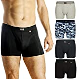 DANISH ENDURANCE Boxer Homme (Noir - Lot de 3, XXX-Large)