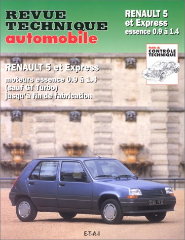 Revue technique Automobile : Renault 5 et express essence