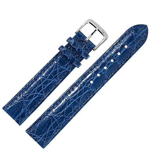 nd 19mm Leder Blau Kroko - Werkzeug Montage Set 8131950000120 ()