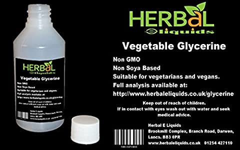Vegetable Glycerine High Grade (VG) E Liquid Vape 250ml 0mg Nicotine FREE UK Post