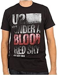 U2 - Mens Under a Blood Red Sky T-Shirt in Black