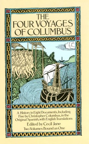 The Four Voyages of Columbus (Dover Books on Travel, Adventure) por Cecil Jane