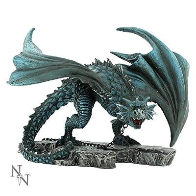 Nemesis Now Nyx Chained Dragon Hand Painted Figurine Ornament 21cm Staue Alator Range