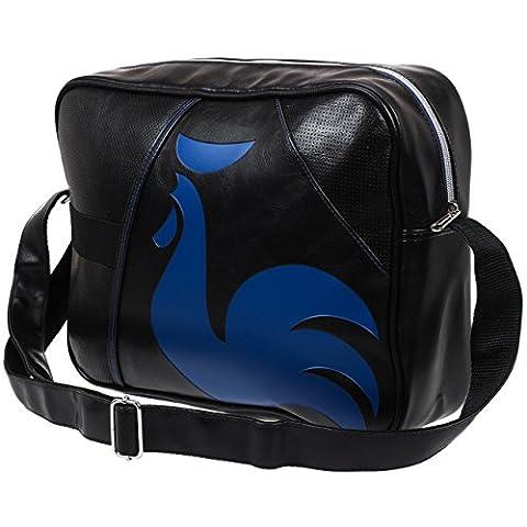 Le coq sportif - Dolicho noir bleu - Sac besace fourre tout - Noir - Taille Unique