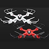 deAO Wifi FPV 3D Function 4CH 2.4GHz 6-Axis Gyro RC Drone with 0.3MP Build-in Live Camera Quadcopter for IOS & Android System