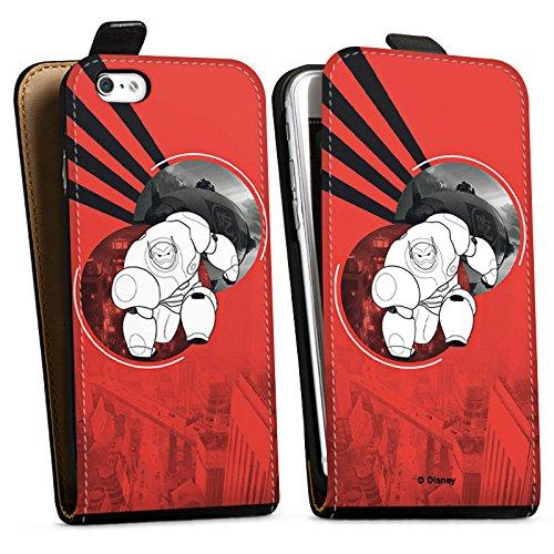 Apple iPhone X Silikon Hülle Case Schutzhülle Disney Baymax Merchandise Downflip Tasche schwarz