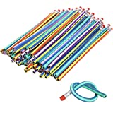 Hosaire Crayon à Papier Coloré Flexible Plastique Souple bricolage crayon de jouet Cadeau idéal pour les enfant 30PCS/Lot