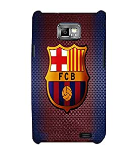 Football, Multicolor, Football Game Pattern, Lovely Pattern, Printed Designer Back Case Cover for Samsung Galaxy S2 I9100 :: Samsung I9100 Galaxy S Ii