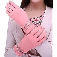 LCCU Guantes Gloveswomens Winter Warm Mittens USA El Dispositivo Mientras Mantiene Las Manos como Regalo para GirlWinter, Pink