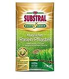 Substral Magisches Rasen-Pflaster 3,6 kg - 3 in 1 Reparatur Mischung aus Rasensamen Keimsubstrat & Dünger