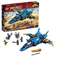 LEGO Ninjago Legacy Jay's Storm Fighter Building Kit, Multi-Colour, 70668