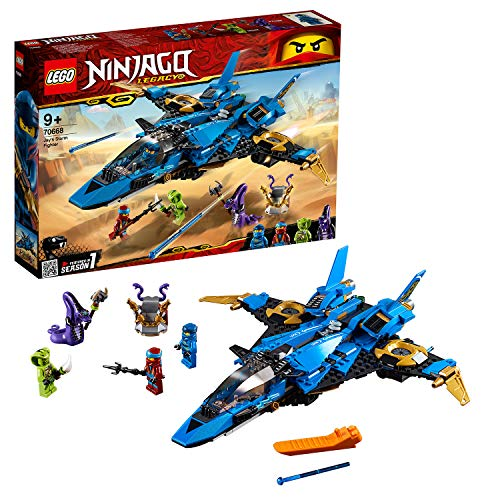 e9abe7243c53e LEGO 70668 Ninjago Legacy Jay's Storm Fighter Building Kit, Colourful