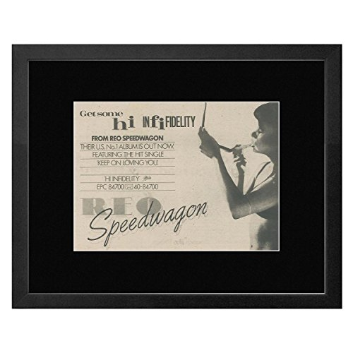 Reo Speedwagon - Hi Infidelity Framed Mini Poster - 33 5x44cm - Buy