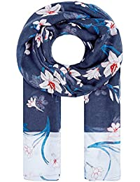 HALLHUBER Large scarf with lily print