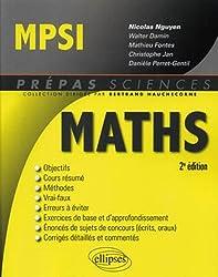 Mathématiques MPSI - 2e édition
